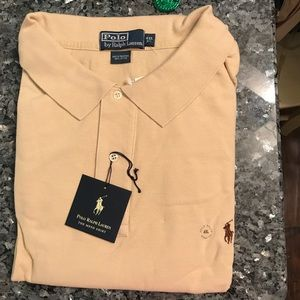 New With Tags!  4X Light Amber Ralph Lauren Polo